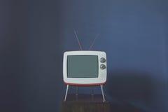 ТВ в комнате Стоковая Фотография