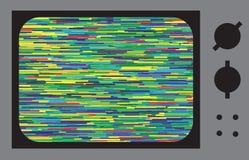 ТВ небольшого затруднения или шума Стоковое Изображение RF