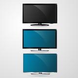 ТВ для работы вектора дизайна Стоковые Фото