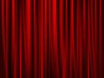 Театральная предпосылка задрапировывает Стоковое Фото