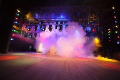 Театральный свет Стоковое фото RF