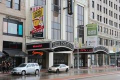 Театры Кливленда стоковое изображение