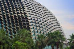 театры esplanade залива стоковое изображение rf