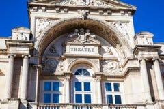Театр Авиньона оперы грандиозный на месте de l ` Horloge в Авиньоне Стоковое Фото