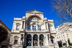 Театр Авиньона оперы грандиозный на месте de l ` Horloge в Авиньоне Стоковое Изображение RF