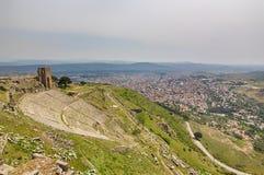 Театр акрополя, древнегреческия Стоковая Фотография RF