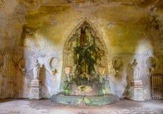 Театр большого фонтана, холма Palatine Стоковые Изображения RF