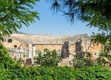 Театр вероятно был построен под царствованием Hadrian стоковое фото rf
