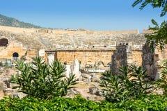 Театр вероятно был построен под царствованием Hadrian стоковая фотография rf