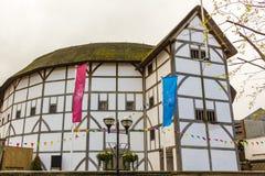 Театр глобуса - Лондон Стоковое Изображение