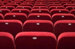 театр залы конференции кино аудитории пустой стоковое изображение