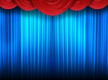 театр занавесов самомоднейший Стоковая Фотография RF