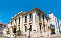 Театр комедии значности во Франции стоковое фото rf