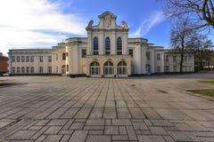 Театр Литва положения Каунаса музыкальный стоковое изображение