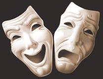 театр маски Стоковое Фото