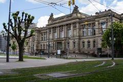 Театр Национальн de Страсбург стоковое изображение rf