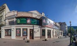 Театр Одессы академичный русский драматический стоковая фотография