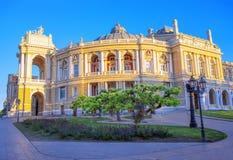 Театр Одессы национальный академичный стоковое фото rf