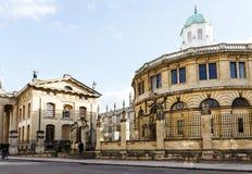 Театр Оксфорд Sheldonian стоковые фотографии rf