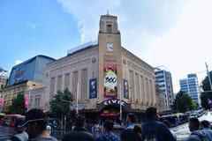 Театр Окленда гражданский стоковое изображение