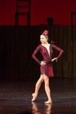 Театр оперетты Kyiv национальный показал балет Стоковое фото RF