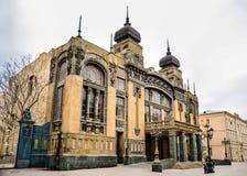 Театр оперы и балета положения Азербайджана академичный стоковые изображения rf