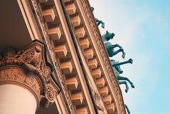 Театр оперы и балета Bolshoi в Москве Стоковое Изображение