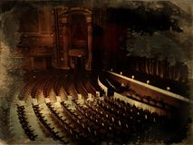 Театр положения стоковое фото rf
