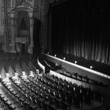 Театр положения стоковая фотография rf