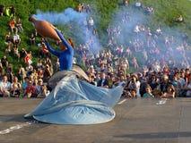 театр улицы празднества международный стоковая фотография rf