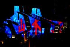 Театр Чунцина большой стоковые изображения rf