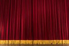 театр этапа занавеса Стоковая Фотография RF