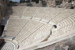 театр athens акрополя Стоковые Фото