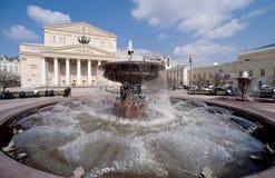 Театр Bolshoi в Москва Стоковое Фото