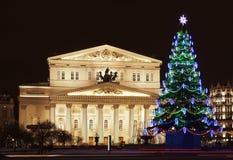 Театр Bolshoi стоковое изображение