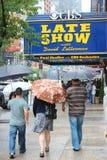 Театр CBS Ed Sullivan стоковое изображение rf