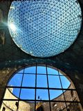 Театр Dalì - музей в Фигерасе, Испании Архитектура, гений и искусство стоковое фото rf