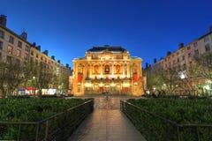 театр des Франции lyon celestins стоковое изображение