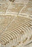 театр dionysus акрополя Стоковое Фото
