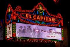 Театр El Capitan Стоковая Фотография
