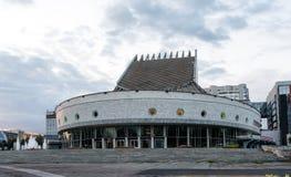 Театр GLOBUS молодости Новосибирска академичный стоковые изображения