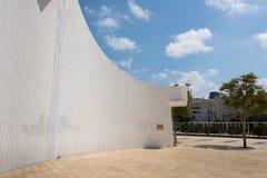 Театр Habima в Тель-Авив Стоковое Изображение