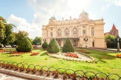 Театр Juliusz Slowacki стоковое изображение