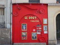 Театр Le Поединка в Париже стоковая фотография