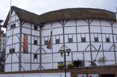 театр london глобуса стоковое изображение rf