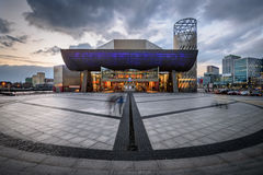 Театр Lowry, Манчестер - Англия Великобритания Стоковое Изображение