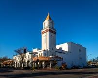 Театр Merced - Merced, Калифорния, США стоковая фотография rf