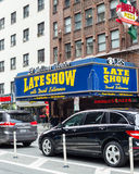 Театр NYC Ed Sulliven Давид Леттерман стоковая фотография rf