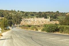 Театр Preveza старый римский стоковое фото