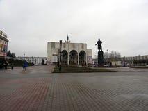 Театр Pushkin драмы стоковые изображения rf